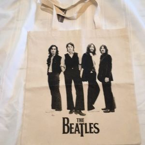 NWT Beatles tote bag canvas New satchel